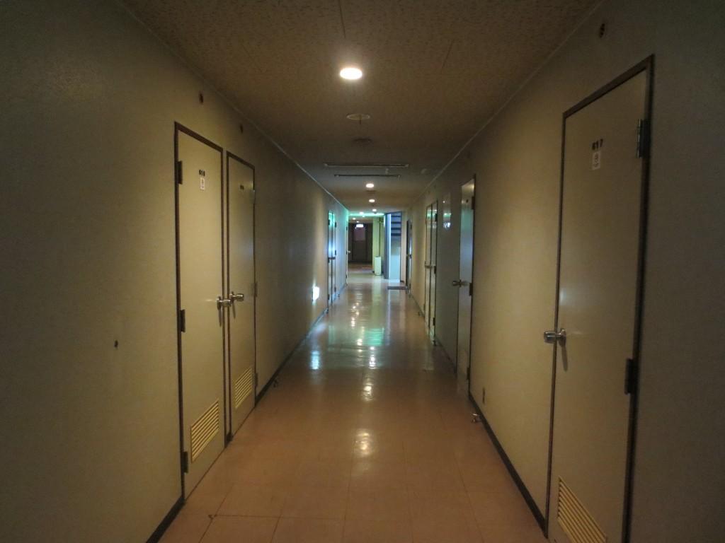 Couloir hotel Taiyo à Osaka