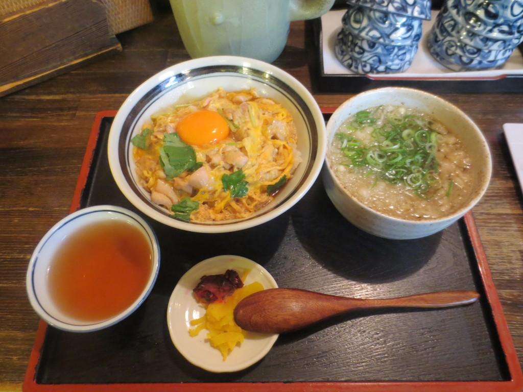 Oyakodon a Osaka