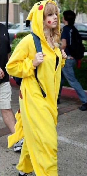 pikachu densha onna