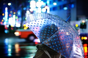 City-rain-Tokyo